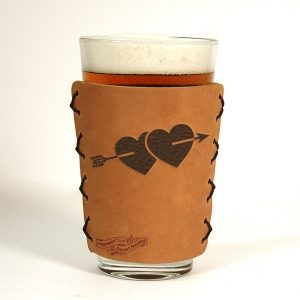 Two Hearts Pint Sleeve