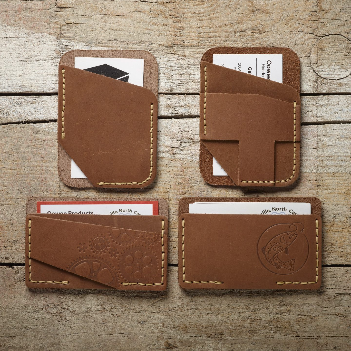 leather wallets handmade by oowee