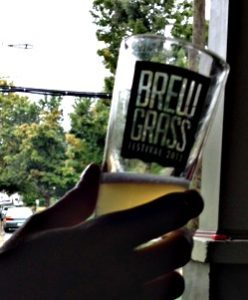 Asheville brewgrass taster