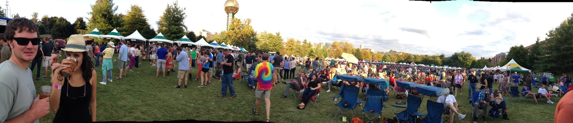 Brewers' Jam scene