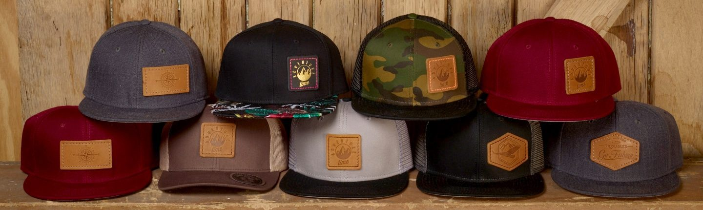 Leather Patch Hats | Oowwee Products | Asheville, NC