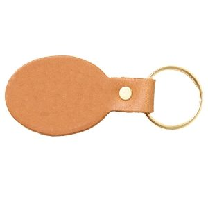 Oval Key Chain: Custom