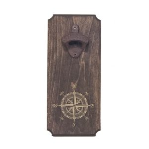 Bottle Opener: Compass Rose
