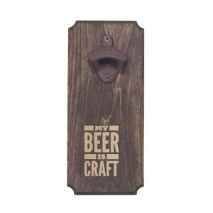 Bottle Opener: My Beer is Craft