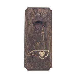 Bottle Opener: NC Heart