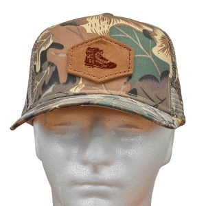 Decorative Hat with Patch: Hike More, Worry Less