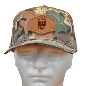 Decorative Hat with Patch: My Beer is Craft