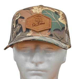 Decorative Hat with Patch: Go Fishing