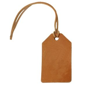 Simple Luggage Tag: Custom