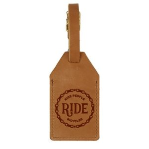 Sewn Tag: Nice People Ride Bikes