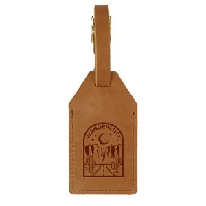 Sewn Luggage Tag