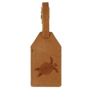 Sewn Tag: Sea Turtle