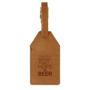 Sewn Tag: Beer Ingredients