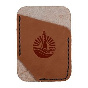 Single Vertical Card Wallet: Light House
