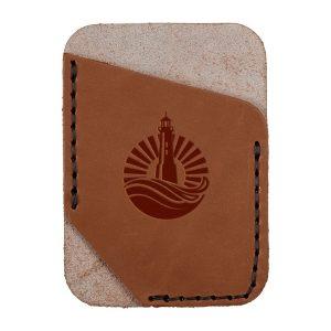 Single Vertical Card Wallet: Light House