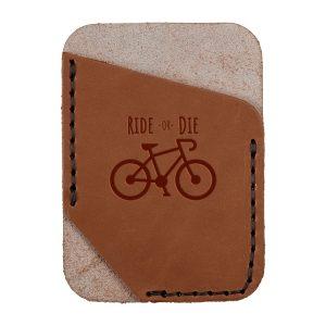 Single Vertical Card Wallet: Ride or Die
