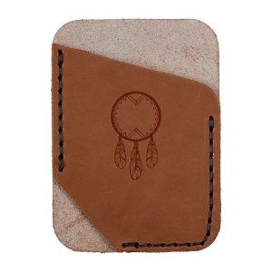 Single Vertical Card Wallet: Dream Catcher