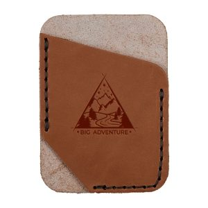 Single Vertical Card Wallet: Big Adventure