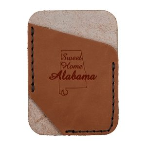 Single Vertical Card Wallet: Sweet Home AL