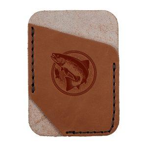 Single Vertical Card Wallet: Fish