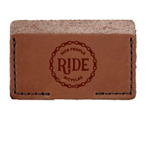 Single Horizontal Card Wallet: Nice People Ride Bikes