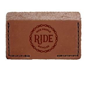 Single Horizontal Card Wallet: Nice People Ride Bikes