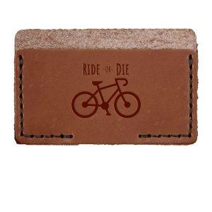 Single Horizontal Card Wallet: Ride or Die