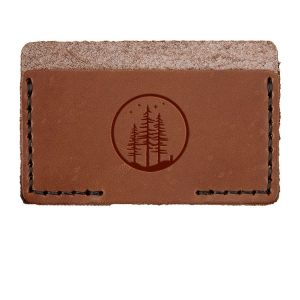 Single Horizontal Card Wallet: Starry Trees