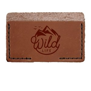 Single Horizontal Card Wallet: Wild Life