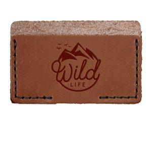 Single Horizontal Card Wallet: Wild Life