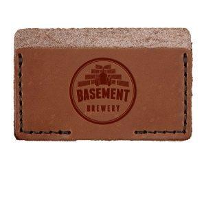 Single Horizontal Card Wallet: Basement Brewery