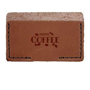Single Horizontal Card Wallet: Mmm...Coffee