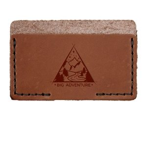 Single Horizontal Card Wallet: Big Adventure