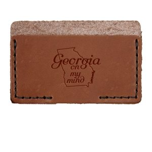 Single Horizontal Card Wallet: GA on my Mind