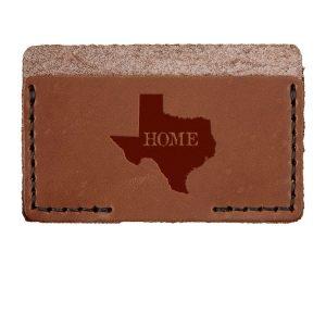 Single Horizontal Card Wallet: TX Home