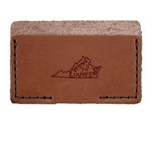 Single Horizontal Card Wallet: VA is for Lovers