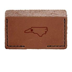 Single Horizontal Card Wallet: WNC Heart