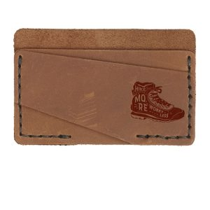 Double Horizontal Card Wallet: Hike More, Worry Less