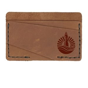 Double Horizontal Card Wallet: Light House