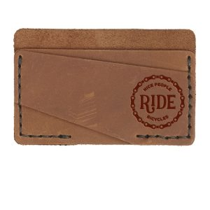 Double Horizontal Card Wallet: Nice People Ride Bikes