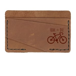 Double Horizontal Card Wallet: Ride or Die