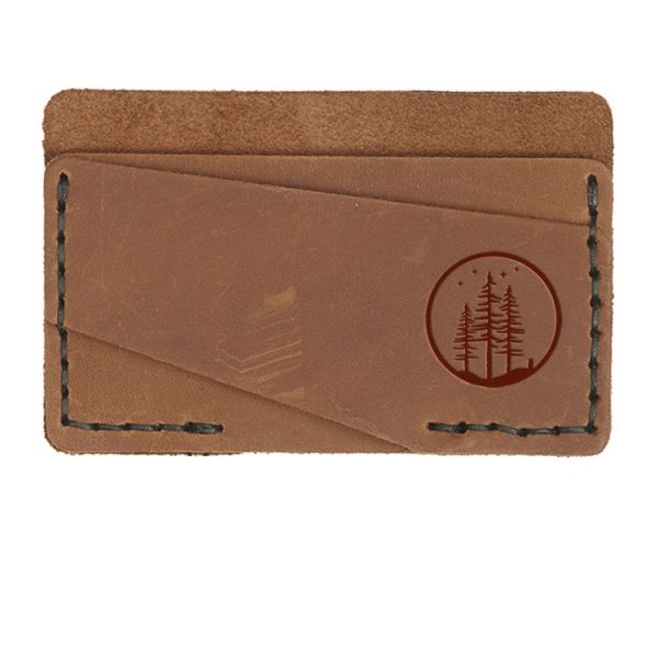 Double Horizontal Card Wallet: Starry Trees