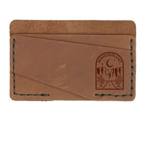 Double Horizontal Card Wallet: Wanderlust