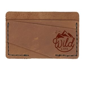Double Horizontal Card Wallet: Wild Life