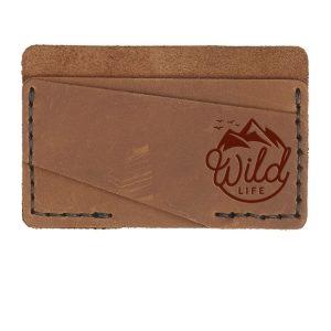 Double Horizontal Card Wallet: Wild Life