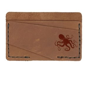 Double Horizontal Card Wallet: Octopus