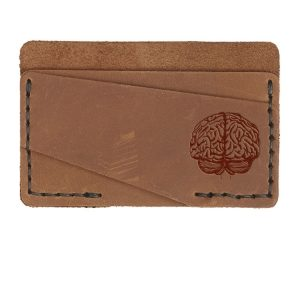 Double Horizontal Card Wallet: Brain