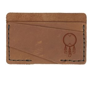 Double Horizontal Card Wallet: Dream Catcher