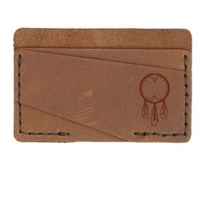 Double Horizontal Card Wallet: Dream Catcher