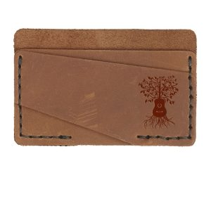 Double Horizontal Card Wallet: Guitar Tree